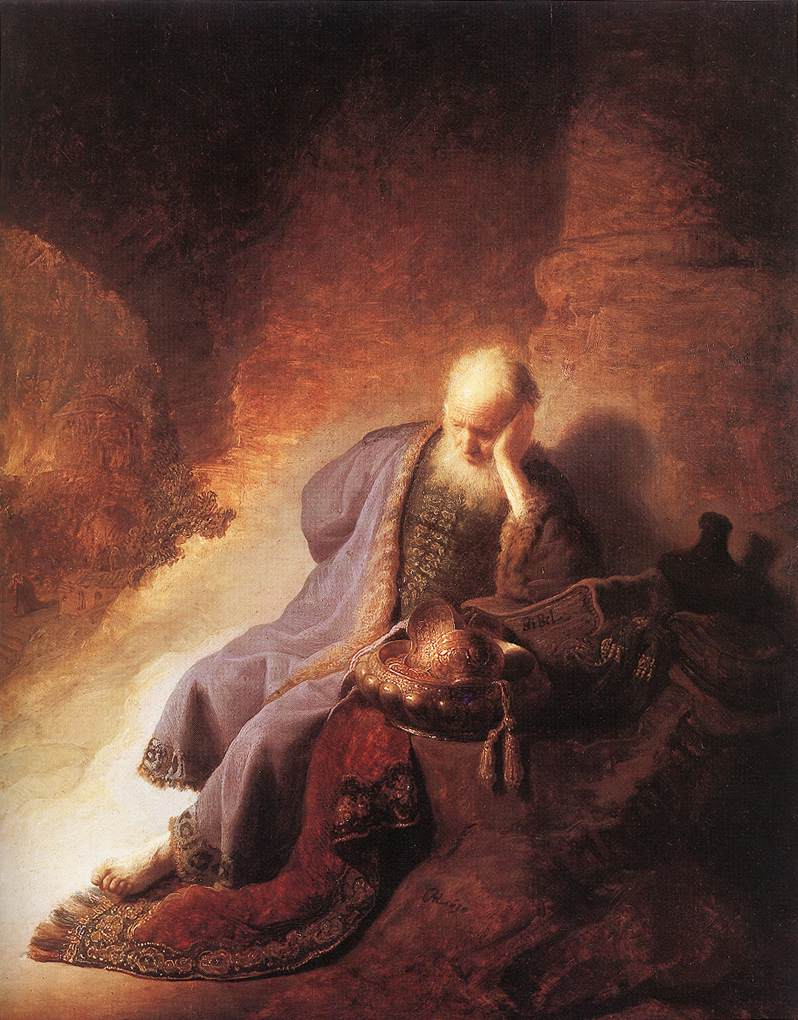 Jeremiah Lamenting the Destruction of Jerusalem